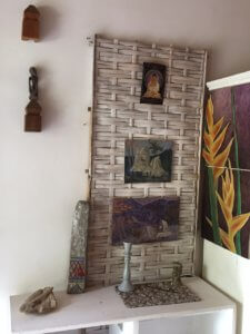 Paintings in the room